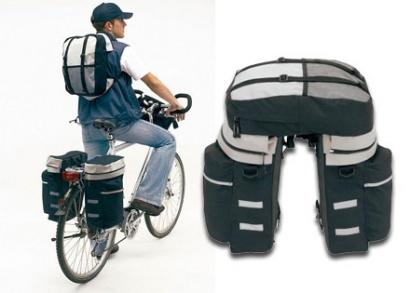 Kerékpártáska akár 3 részes szettben is