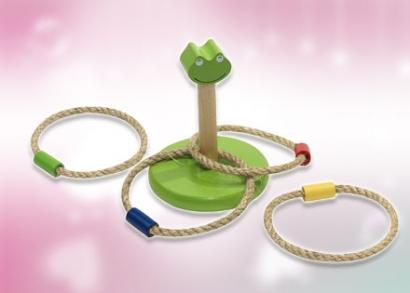 Crazy Loop gyűrűs dobójáték fából gyerekeknek