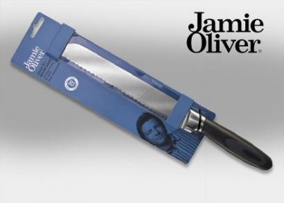 22 cm-es Jamie Oliver kenyérvágó kés