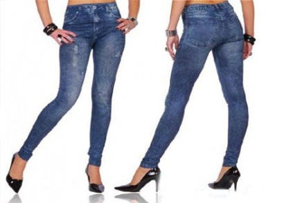 0bb027e5fe Rendkívül kényelmes, farmer hatású leggings, 2 féle színben, hogy ...