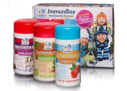 1×1 Vitaday ImmunBox vitamin csomag