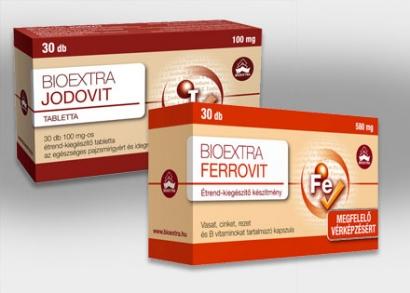 Bioextra Jodovit tabletta vagy Ferrovit kapszula