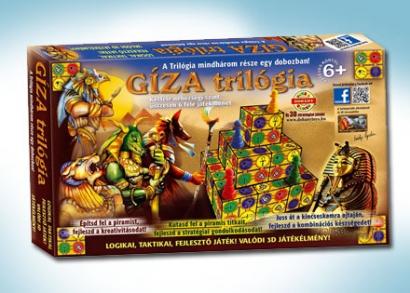 Gíza trilógia társasjáték