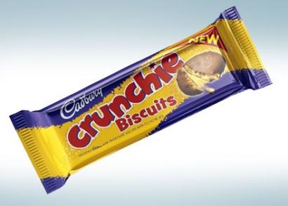 3 fajta választható Cadbury keksz