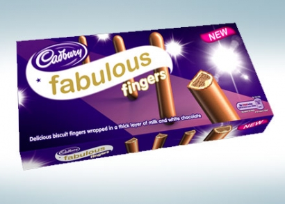 3 féle ízesítésű Cadbury csokival bevont pálcikák