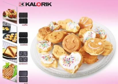 Kalorik 4 az 1-ben sütő cserélhető sütőlapokkal