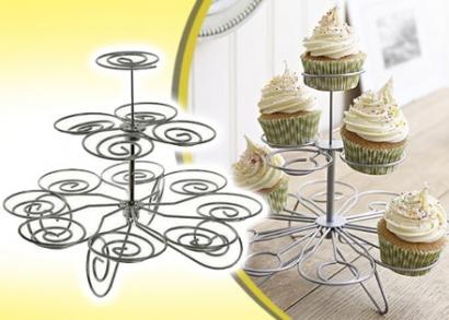 3 szintes muffin tartó, 13 sütinek
