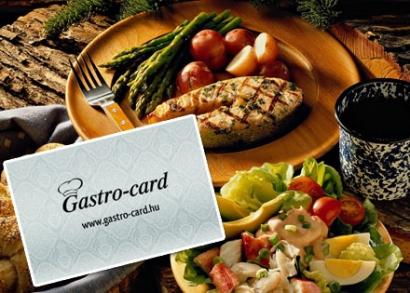 3, 6 vagy 12 hónapos, Gastro-card Ezüst kártya