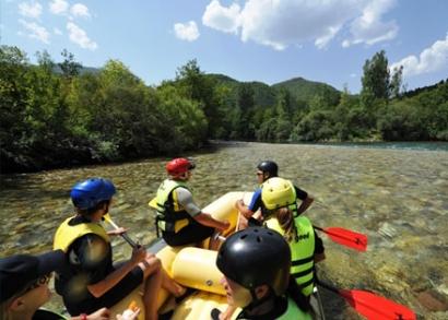 Rafting a Neretva folyón, teljes ellátással