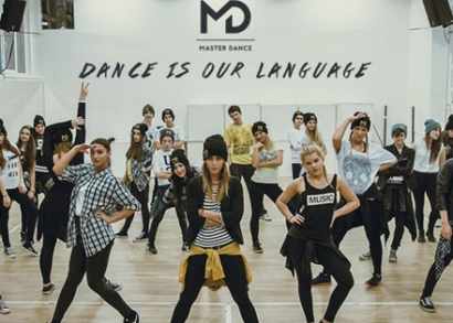 Hip-hop táncóra a Master Dance iskolában