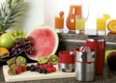 Pro-V Juicer gyümölcsfacsaró shakerrel