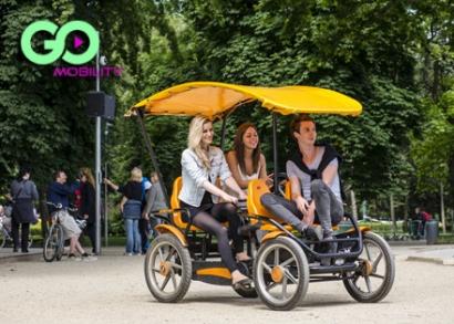 60 perc Gran Tour gokartozás a Margitszigeten