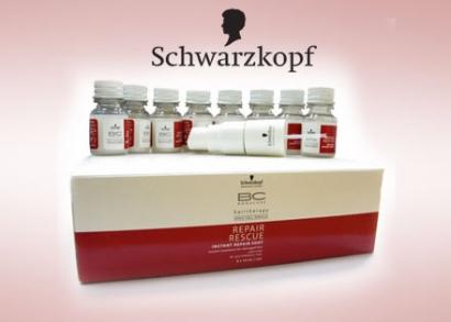 Ne mondj le végleg sérült, töredezett hajadról!  Hajkoronánk számos káros külső tényezőnek, szennyeződésnek van kitéve, ráadásul a nem megfelelő táplálkozás és a stressz sincs jó hatással hajszálaink egészségére. Sokan küzdenek a száraz és töredezett haj problémájával, de a Schwarzkopf terméke rajtuk is segíthet!  A Schwarzkopf Professional Bonacure Repair Rescue mélyen ápoló és regeneráló szérum koncentráltan építi újjá a sérült hajat, miközben erővel és rugalmassággal látja el anélkül, hogy elnehezítené azt. Mélységi regeneráló hatása révén ultragazdag ápoló hatással bír erősen sérült haj esetén is.  Próbáld ki a Schwarzkopf hajszerkezet-újjáépítő csomagját, s gyönyörködj újra dús és egészséges hajadban!  A csomag tartalma: 8 üvegcse szérum és egy adagoló fej