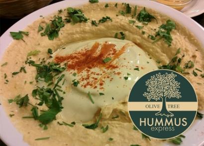 Alkupon hummusz-tál 2 főre az Olive Tree-ben