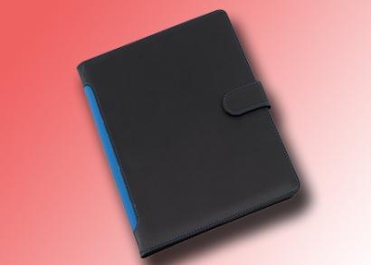 Kék tablet tartó