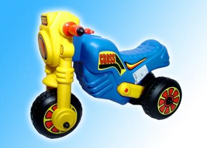 Kék színű motor