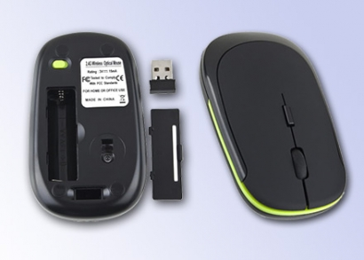 Slim Black mouse