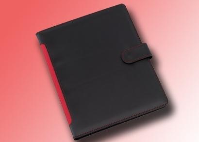 Piros tablet tartó