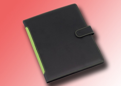 Zöld tablet tartó