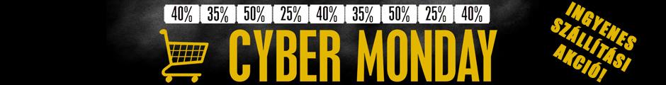 Cyber Monday - Ingyenes szállítási akció!